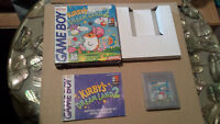 Kirbys Dreamland 2 CIB Gameboy Still Wrapped in Original Plastic