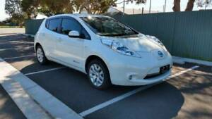2014 Nissan Leaf AZE0 EV Electric Vehicle Hatch White 12Bars Marion Marion Area Preview