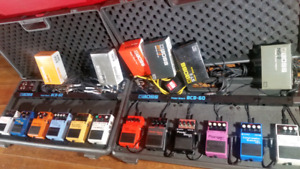 6 PEDAL BOSS PEDAL PACKAGES