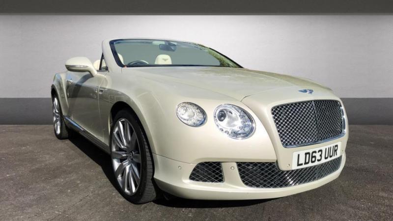 2013 Bentley Continental Gt Convertible 6 0 W12 Mulliner Driving