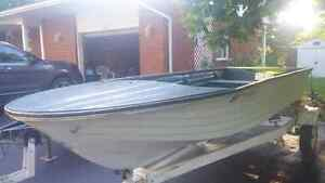 Boat and trailer and motor for sale