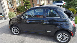 2012 Fiat 500c Convertible with LOW MILEAGE!
