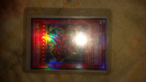 Slifer the sky dragon rare 1996 gold foil card
