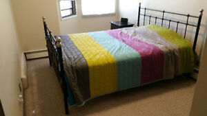 IKEA Queen size bed, and mattress