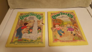 Vintage (1984) Five Hardcover Cabbage Patch Kids Books