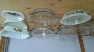 Assorted Baking Glass Oven ware