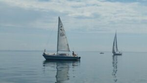 Tanzer 26 sailboat with trailer