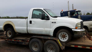PARTING OUT INDIVIDUAL PARTS OFF 2004 FORD F-250
