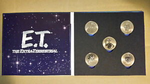 NHL Hockey Greats, ET, The Spirit, The Grinch coins plus more...