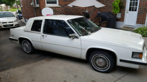 1985 Cadillac Coupe Deville Coral edition. Southern car