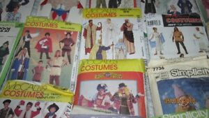 Adult Halloween Patterns for sale $1.00 each