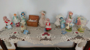 Holly Hobbie ceramic doll collection