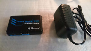 component to hdmi and hdmi splitter