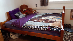3 person bunk bed only $50