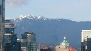 Furnished 1 Bedroom Mountain View Yaletown Suite