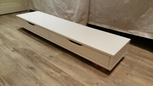 Ikea Ekby Alex - White Shelf (with 3 brackets included) - $40