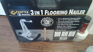 Brand new 3 in 1 flooring nailer REDUCED