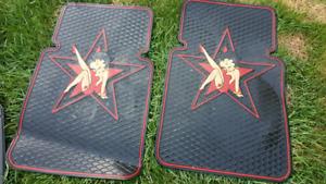 Betty Boop floor mats