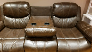 Entertainment Couch Reclining