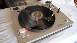 SONY TURNTABLE NEEDS SOME REPAIR...$60..