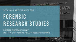 SEEKING: Research Participants for Forensic Research Studies