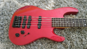 Fender 5 String Bass 1990