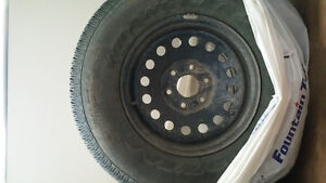 spare tire with rim p265/70R17 6 bolts gmc cadillac