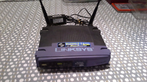 Linksys WRT54GS Wireless Router with DD-WRT Firmware