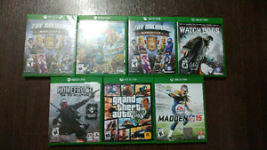 Xbox one games CHEAP SCRATCHLESS