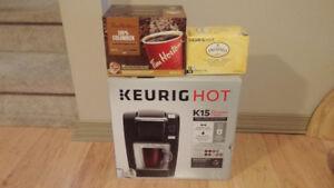 keurig coffee maker and k cups