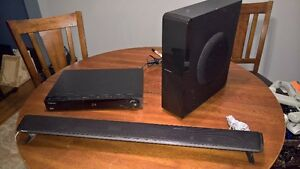 Pioneer - HTZBD91HW 2.1 Bluray Soundbar w/Subwoofer Home Theatre