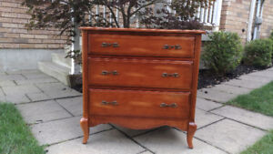 French Provincial Dresser /large Nightstand