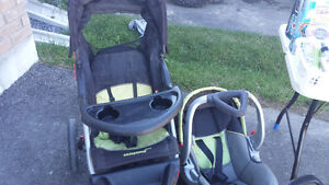 Baby Trend Jogger stroller / car seat