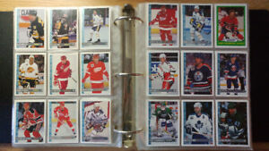 Collection de cartes de hockey cards collection