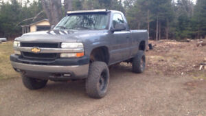 Lifted short box Chevy