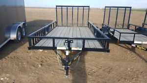 Big Tex bumper tow trailers on special now 8 ft 10ft 12 ft 14 ft