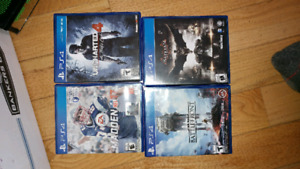 Game lot ps4