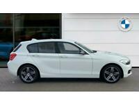 2017 BMW 1 Series 120d Sport 5dr [Nav/Servotronic] Step Auto Diesel Hatchback Ha