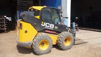 Jcb 330 rubber tired skid sterr