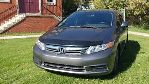 2012 Honda Civic EX Sedan w/ winter tires and weather tech mats!