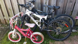 4 bike and play house for sale