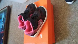 brand new baby nikes and slippers for sale