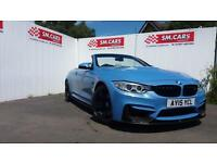 2015 15 BMW M4 3.0 DCT (425bhp) YAS MARINA BLUE WITH WHITE LEATHER,FULL BMW SH.