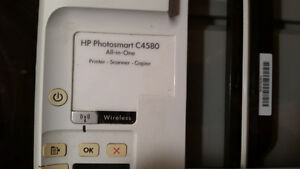 HP Photosmart C4580 All in One (Print-Scan-Copy) built in WiFi