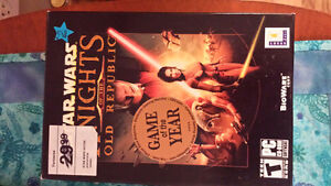 Unopened Game of the Year Star Wars Knights of the Old Republic