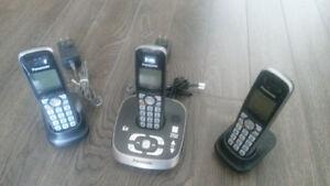 Panasonic Dect 6.0 3 hand set phone system