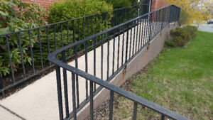 Cast Iron Hand Railing