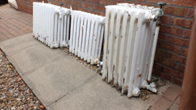Vintage Cast Iron Radiators