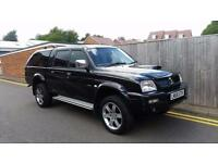 Mitsubishi L200 2.5 TD Animal 4dr 2006 06 REG 119K NO VAT SNUG TOP