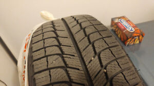 225/55R17 MICHELIN X-ICE WINTER TIRES x4